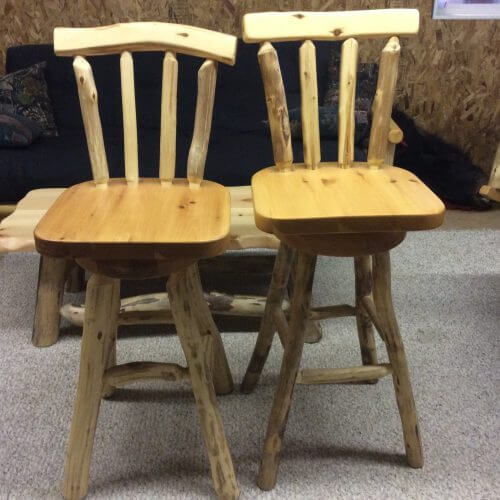 Bar Stool (with back)